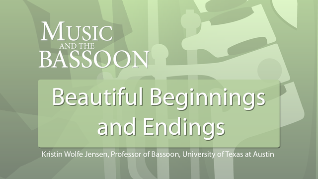 Play Video Beautiful Beginnings and Endings