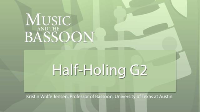 Play Video Half-Holing G2