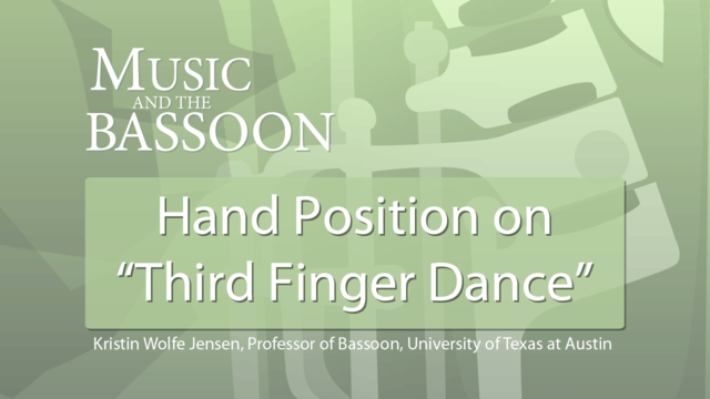 Play Video Hand Position