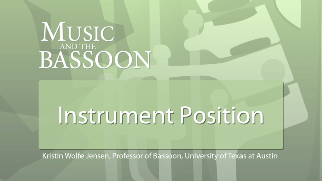 Play Video Instrument Position